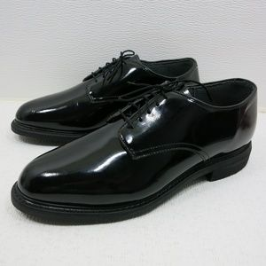 Capps Air Lite Footwear Patent Leather Oxford 10 E
